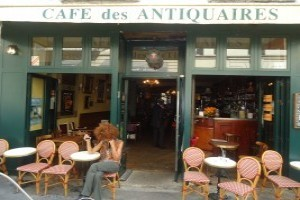 Happy Hour Paris - Le Café des Antiquaires
